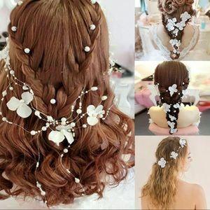 New Elegant Flower & Pearl hair accessory